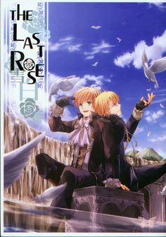 Hetalia Axis Powers BL Doujinshi - The Last Rose: Snow White (USA x UK)