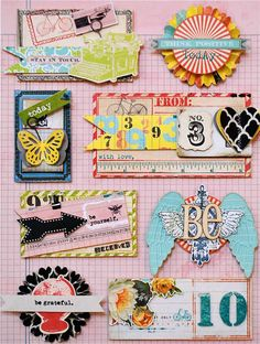 Ways to put all those great items together from Daily Junque by Pink Paislee