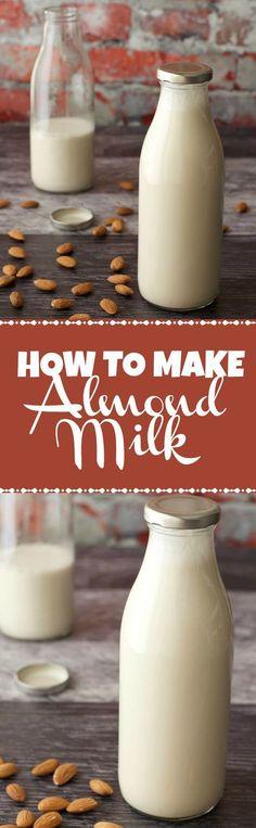 How To Make Almond Milk. Vegan and Gluten-Free. Vegan Recipes | Vegan Breakfast | Vegan Food | Gluten-Free Vegan