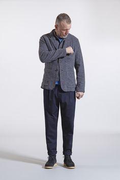 suit jacket battle waistcoat pocket tee pleat pant