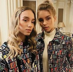 Lisa and Lena - FENDI