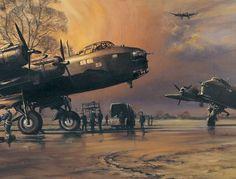 pictures of 7 squadron stirlings   Stirling Work Short Stirlings at RAF Oakington