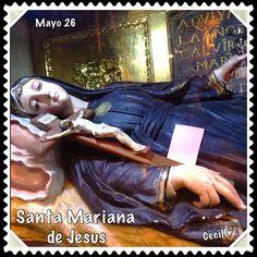 Santa Mariana de Jesús, Imágenes de Cecill