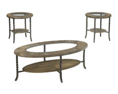 Brudelli 3 Piece Table Set