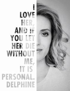 It's personal.