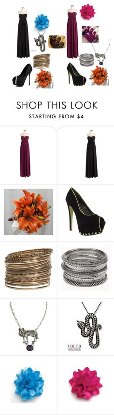 """""""Kaydence -- Bridesmaids"""" by zayne-jinxie ❤ liked on Polyvore featuring J.Crew, Dolcis, H&M, Forever 21 and OPI"""