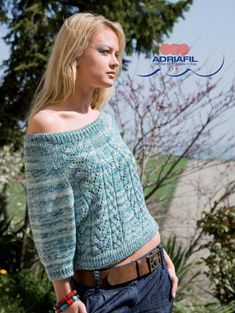 Canazei Pullover in Adriafil Impulso - Downloadable PDF. Discover more patterns by Adriafil at LoveKnitting. The world's largest range of knitting supplies - we stock patterns, yarn, needles and books from all of your favourite brands.