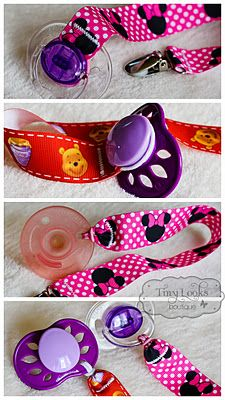 Tiny Looks Kids Boutique: New Pacifier holders