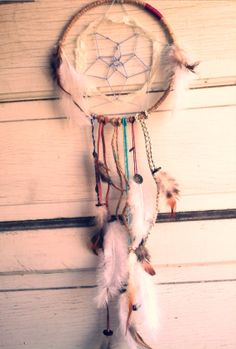 Just bought a really pretty Dreamcatcher from ModernDaydream on etsy! I LOVE IT <3