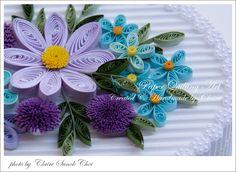 종이감기로 꽃을 만들어 선물 상자를 꾸며 보세요~ : 네이버 블로그