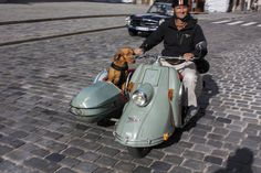 Cohort Sighting: Heinkel Tourist Scooter with Sidecar – The ...