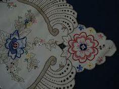 toalha de mesa bordada ilha da madeira anos 50 - Pesquisa Google