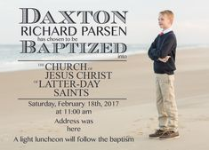 Custom Baptism announcement. Available at BOARDMAN PRINTING. Visit our facebook page.