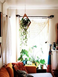 I really like the light airy feel the curtain does. Its perfect for warm summers. It not only brightens the room, but also gives it a calm relaxing soft vibe.