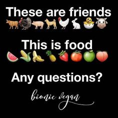 """non-humans are not """"food"""". be vegan. start today."""