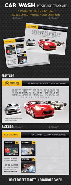 car detail flyer template free - Google Search auto detail - car flyer template
