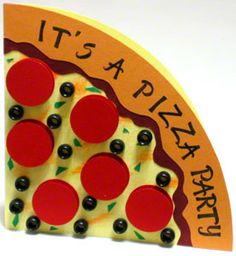 Image result for pizza party invitations
