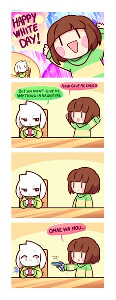 White Day Comic/ Undertale by Ransaros