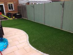 No More Patchy Grass - Trulawn #ArtificialGrass for play areas and patios