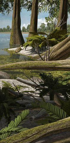 Europelta carbonensis a basal ankylosaur from the Early Creataceous of Teruel, Spain. By Román García Mora.