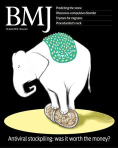 This week's issue looks at the influenza drugs Tamiflu and Relenza, and asks how effective are they. Plus more content  http://www.bmj.com/content/348/7953