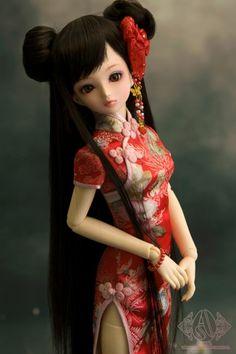 chinese #bjd #doll