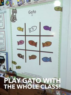 Gato game for Spanish Class