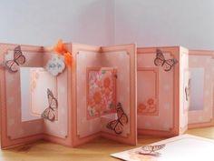 Card Gallery - 3D Flowers & Butterflies Accordion Swing Card