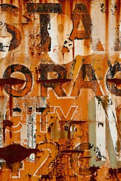 Rust | さび | Rouille | ржавчина | Ruggine | Herrumbre | Chip | Decay | Metal | Corrosion | Tarnish | Texture | Colors | Contrast | Patina | Decay | Janet Little Jeffers