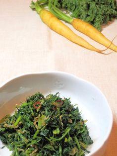 にんじんの葉っぱとちりめんじゃこの佃煮風炒め by yakko 「写真がきれい」×「つくりやすい」×「美味しい」お料理と出会えるレシピサイト「Nadia | ナディア」プロの料理を無料で検索。実用的な節約簡単レシピからおもてなしレシピまで。有名レシピブロガーの料理動画も満載!お気に入りのレシピが保存できるSNS。