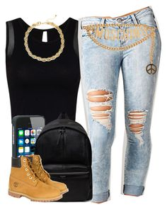 """"""","""" by trillest-queen ❤ liked on Polyvore featuring Cello, Yves Saint Laurent, Timberland, Moschino and tuleste market"""