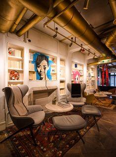 Restaurant Bibo Filled With Street Art