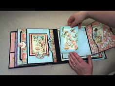 Graphic 45 Secret Garden Mini-Album - YouTube