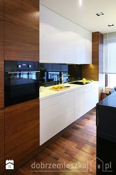 Kitchen Interior, Kitchen Design, Office Cabinets, Orzo, New Homes, Wood, Home Decor, Brown Kitchens, Modern Kitchens
