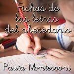 Fichas de las letras con pauta Montessori Curriculum, Playing Cards, Language, Writing, Reading, Kids, Carne, Places, Beginning Sounds