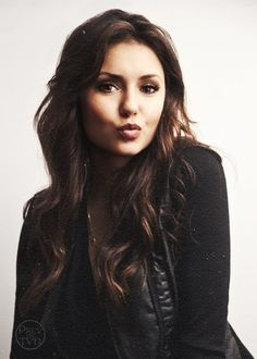 nina dobrev, she's from Vampire Diaries, not sure what to think about that, but I do like her.