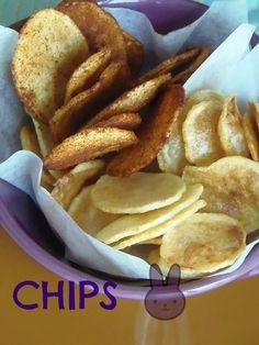 Chips di patate alla paprika |Pane