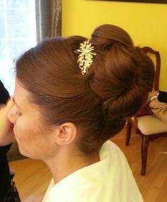 Bridal hair Bridal Hair, Hair Beauty, Ear, Wedding Ideas, Fashion, Moda, Fashion Styles, Fashion Illustrations