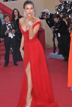 Irina Shayk I want a dress like this.