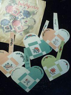 Christmas hearts (flettede julehjerter)