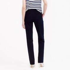Bristol trouser in stretch cotton : Straight | J.Crew