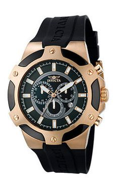 Invicta Men's Signature Watch Thailand Movement Flame Fusion Crystal 7344