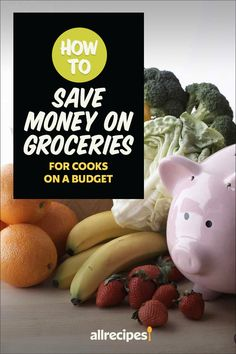 """How to Save Money on Groceries for Cooks on a Budget   """"If the idea of cutting your grocery bill to the recommended amount seems ludicrous, we have some tips for you. Planning ahead is the key to success, and these money-saving tips will help you reach your grocery budget goals. Keep reading for 15 ways to save money on your next grocery trip.""""  #cheaprecipes #cheapmeals #budgetfriendly #budgetrecipes #frugalcooking #frugalmeals #cheapdinnerideas #cheap #budget #economical #frugal Save Money On Groceries, Ways To Save Money, Money Saving Tips, Frugal Meals, Budget Meals, Cheap Recipes, Cheap Dinners, Cooking On A Budget, Good And Cheap"""