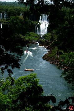 Iguazu falls - Parana river - Brazil
