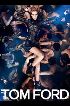 Tom Ford Fashion Campaign 2014  - Model: Eshter Heesch - Photographer: Tom Ford