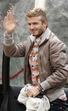 David Beckham Men's Jewellery #mensfashion #mensjewellery www.urban-male.com