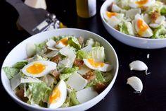 Une recette inratable de L'authentique salade César Thermomix sur Yummix • Le blog culinaire dédié au Thermomix !