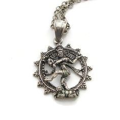 Shivas Cosmic Dance of Life Necklace - Nataraja- Enlightenment - $68.00 : Yoga Jewelry, Om Necklace, Tree of Life Jewelry, Chakra Jewelry, Buddhist Jewelry, Buddha Necklace, Lotus Jewelry, Inspirational and Yoga Inspired Jewelry, Yoga Jewelry of Simple Beauty, Jewelry gifts with meaning