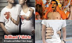 25 Creative and Brilliant T-Shirts Designs and Ideas for your inspiration. Read full article: http://webneel.com/webneel/blog/25-creative-and-awesome-t-shirt-design-ideas-your-inspiration | more http://webneel.com/printing | Follow us www.pinterest.com/webneel