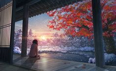 Enjoy the beautiful art of anime on your screen. Clean, crisp images of all your favorite anime shows and movies. We have 180929 anime HD Wallpapers and Background Images - Wallpaper Abyss - Page 93 Wallpaper Kawaii, Girl Wallpaper, Travel Wallpaper, Anime Scenery Wallpaper, Wallpaper Backgrounds, 1080p Wallpaper, Desktop Wallpapers, Live Backgrounds, Anime Wallpaper 1920x1080
